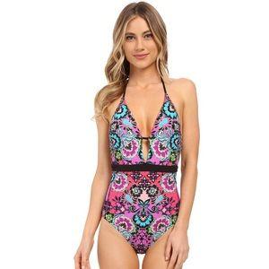 Nanette Lapore bright one piece swimsuit swimwear